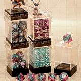 Dice Container -Stackable Dice Tower Case - Types of dice sets