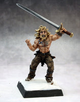 Male Human Barbarian painted