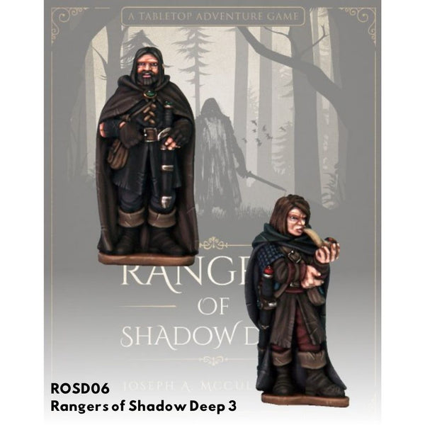 Rangers of Shadow Deep Pack #3 - Unpainted Minis - ROSD Australia