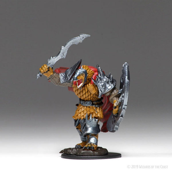 Wizkids #73822 Male Dragonborn Fighter 1pk - Prepainted Miniature