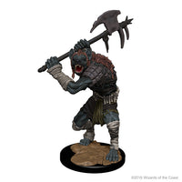 D&D Minis - Gnoll with Axe - Painted