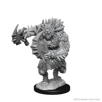 D&D Minis - Gnoll with Axe - Unpainted