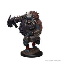 D&D Miniatures - Gnoll with Axe - Painted