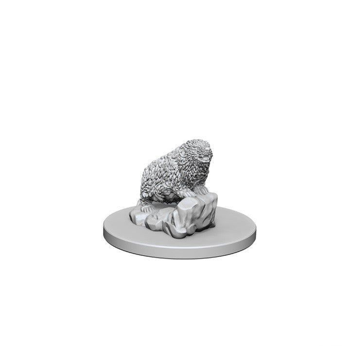 Pathfinder Minis - Badger Familiar - unpainted