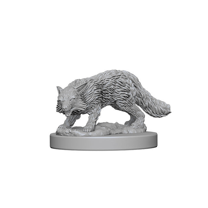 Pathfinder Minis - Fox Familiar - unpainted