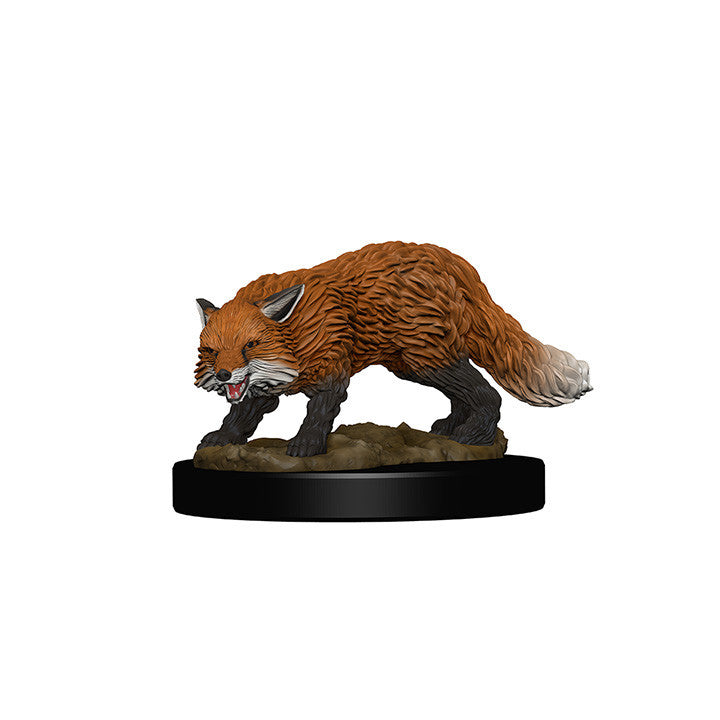 Pathfinder Miniatures - Fox Familiar - painted