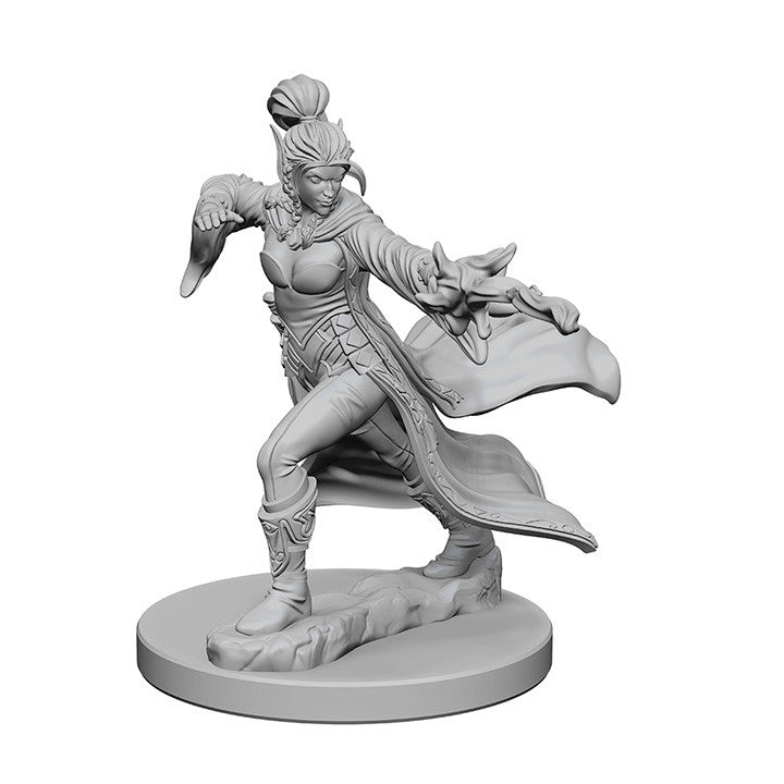 Pathfinder Miniatures - Female Elf Sorcerer - unpainted
