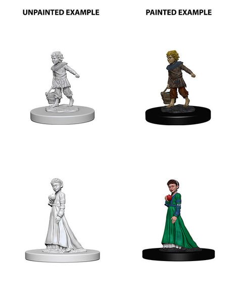 Pathfinder Miniatures - Children (Boy & Girl)