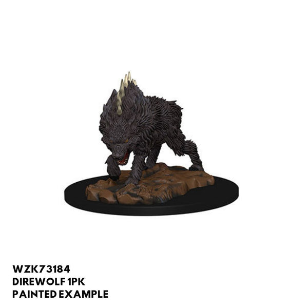 Pathfinder Miniatures - Dire Wolf - painted
