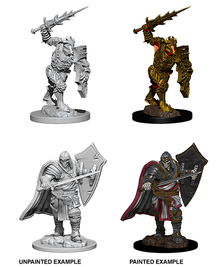D&D Minis - Death Knight & Helmed Horror