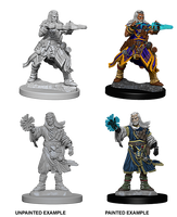 Pathfinder Miniatures - Male Human Wizard