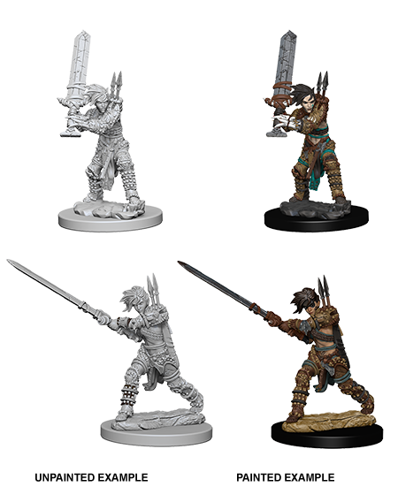 Pathfinder Miniatures - Female Human Barbarian