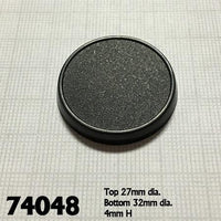 Miniature Bases - 32mm Round Base