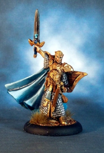 Reaper Miniatures - Male Elf Paladin - painted