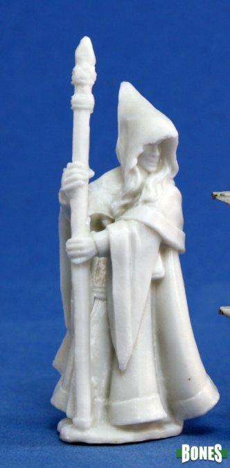 Reaper Miniatures - Male Elf Wizard - Bones