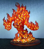 Large Fire Elemental painted