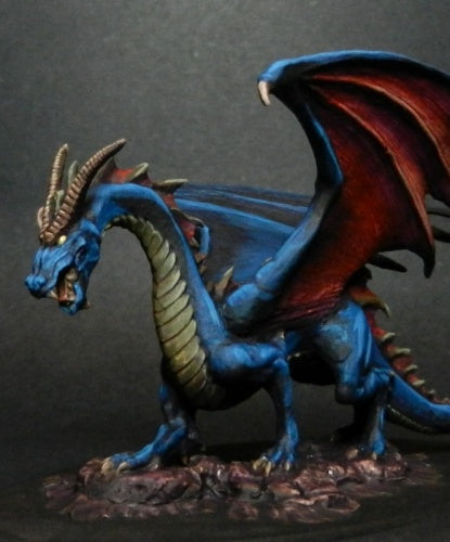 Reaper Miniatures - Shadow Black Dragon - painted