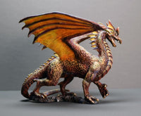 Reaper Miniatures - Red Dragon - painted