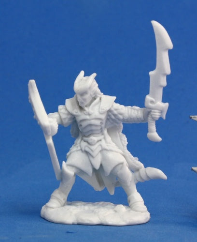 Reaper Minis - Male Tiefling Paladin