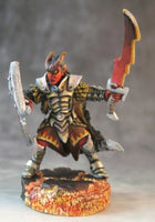 Reaper Miniatures - Male Tiefling Paladin - painted