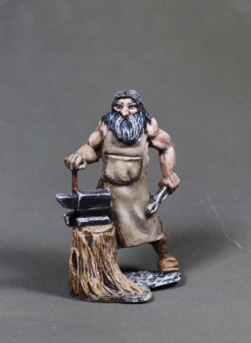 Reaper Miniatures - Human Blacksmith - painted