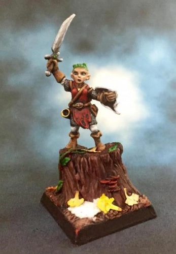 Reaper Miniatures - Female Gnome Bard - painted