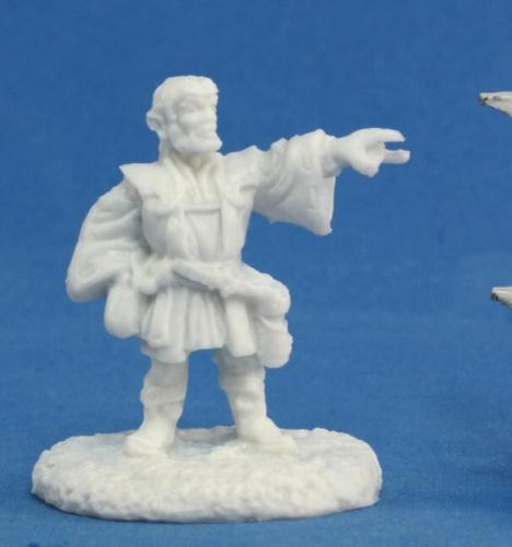 Reaper Miniatures - Male Gnome Wizard - unpainted