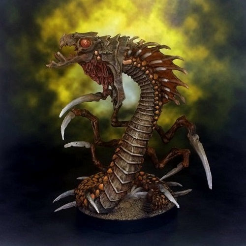 Reaper Miniatures - Adult Remorhaz - painted