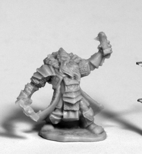 Reaper Miniatures - Male Dwarf Cleric