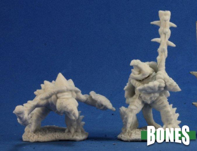 Reaper Miniatures - Tortle Fighter - Bones