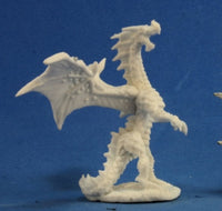 Reaper Miniatures - Red Dragon Wyrmling - unpainted