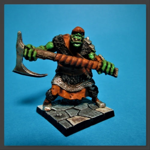 Reaper Miniatures - Orc Chopper - painted