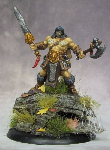 Reaper Miniatures - Human Male Barbarian - painted