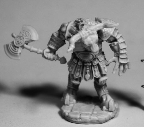Reaper Miniatures - Minotaur great axe