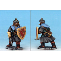 Frostgrave Soldiers - plastic dnd minis - man-at-arms