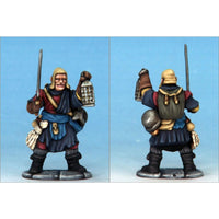Frostgrave Soldiers - plastic dnd minis - thug sword lantern