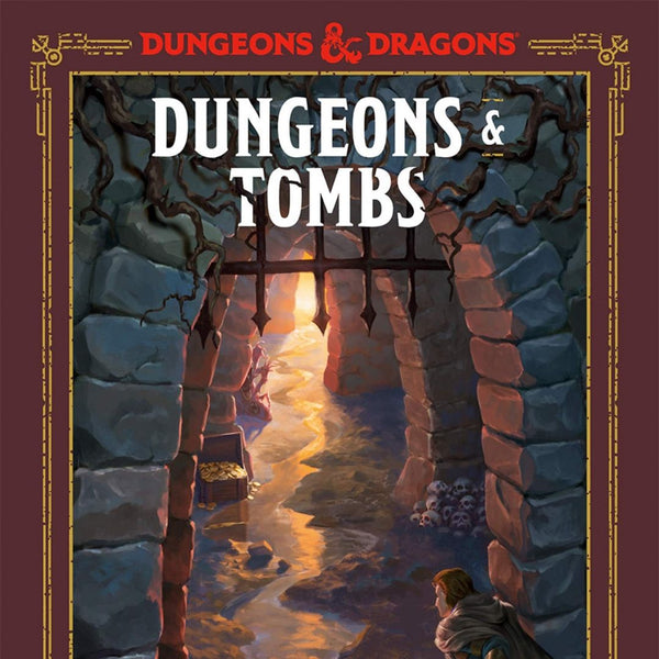 D&D Dungeons and Tombs A Young Adventurers Guide - Artwork