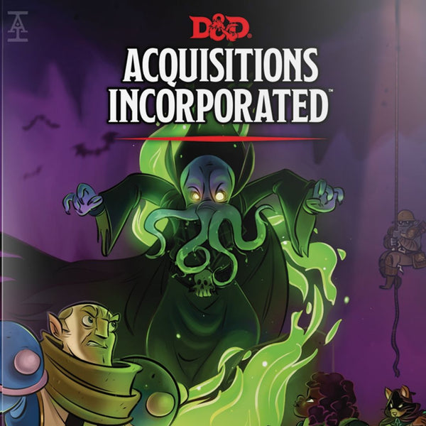 D&D Acquisitions Incorporated - Cover of book - For D&D 5th Edition