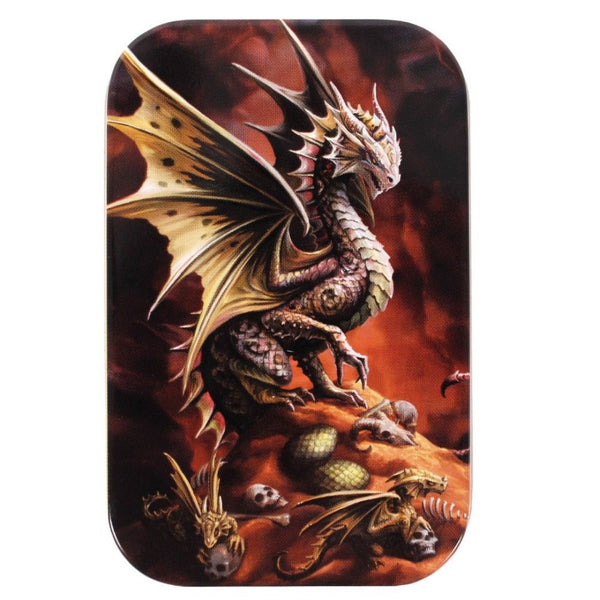 AD56416 Age of Dragons: Desert Dragon Metal Tin - Lid