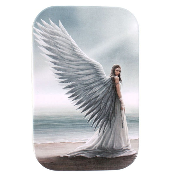 AD56416 Angel: Spirit Guide Metal Tin - Lid Artwork