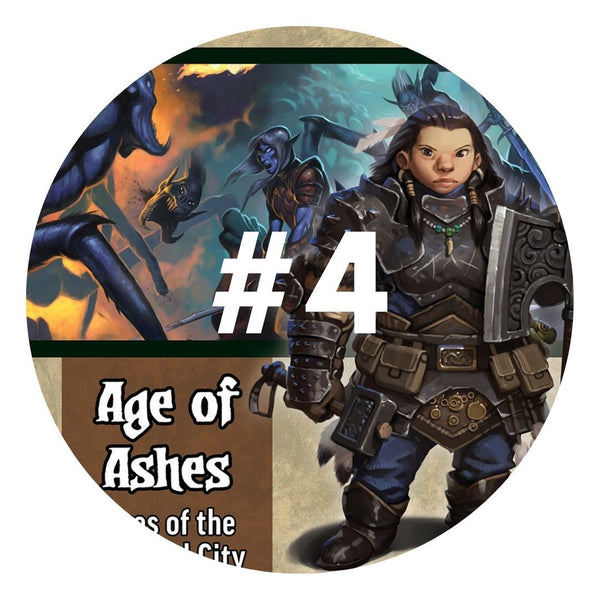 PZO90148 Age of Ashes #4 Fires of the Haunted City - Default Image