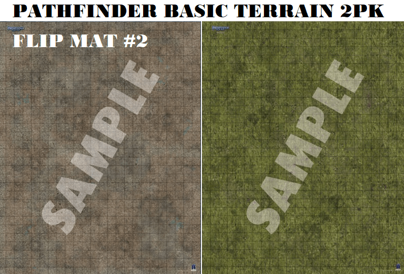 RPG Battle map - terrain
