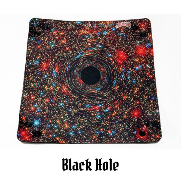 All Rolled Up UK - Black Hole - Square Dice Tray 1pc - laid out flat