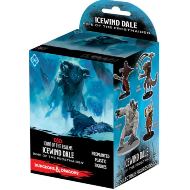 D&D Icewind Dale Rime of the Frostmaiden - booster prepainted minis