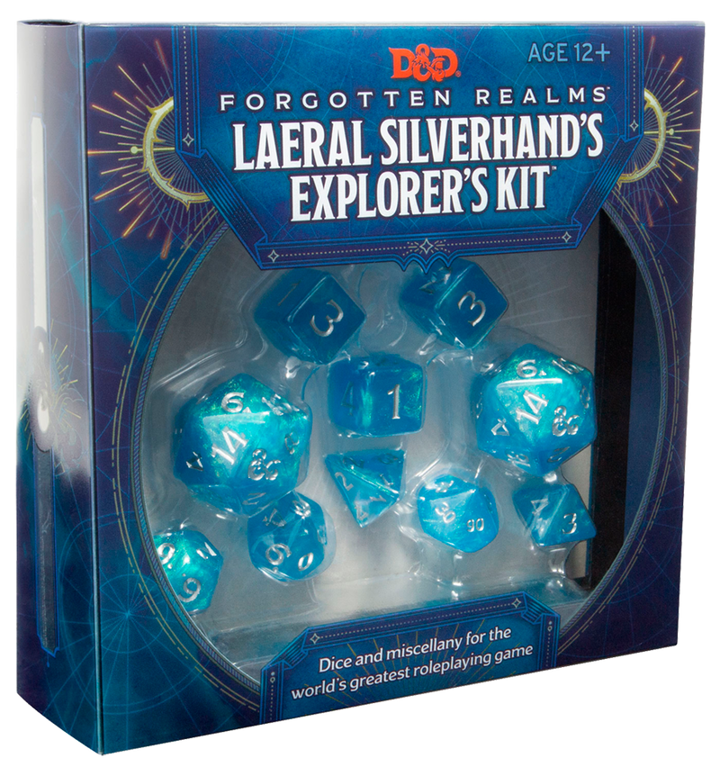 DnD Dice - Forgotten Realms Laeral Silverhands' Explorers Kit