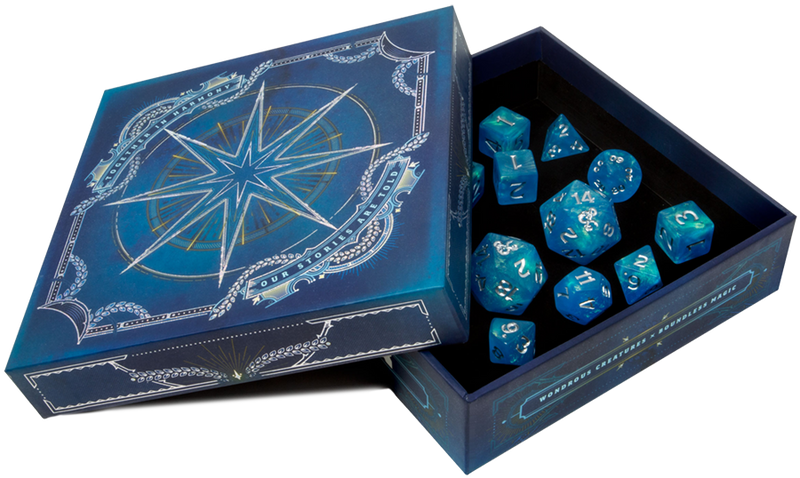 Dice for Dungeons and Dragons - Forgotten Realms Explorers Kit