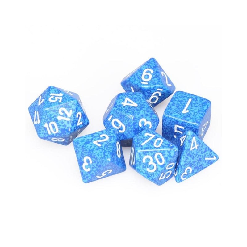 DnD Dice - Chessex - Speckled Water