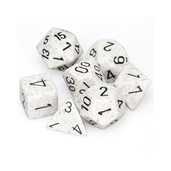 RPG Dice - Chessex - Speckled Arctic Camo