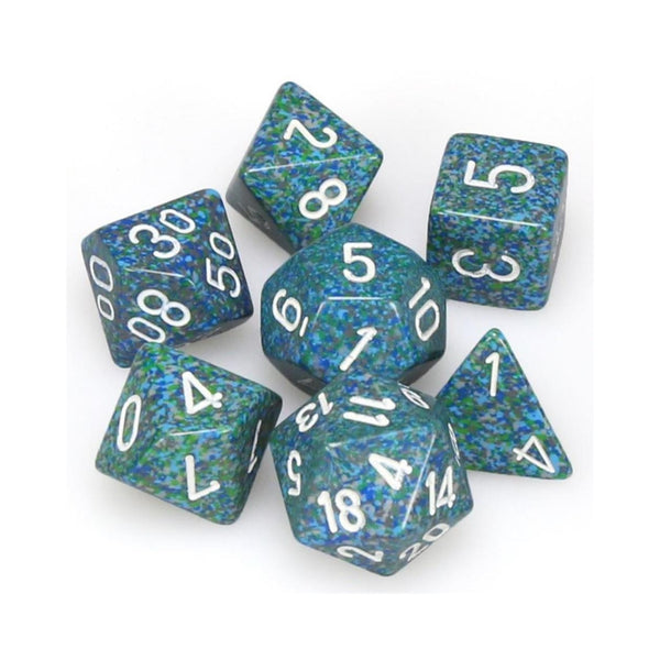 RPG Dice - Chessex - Speckled Sea