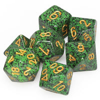 DnD Dice - Chessex - Speckled Golden Recon